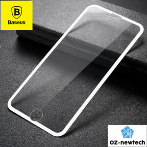 iPhone 6 7 8Plus Full Screen Tempered Glass Protector with PET Soft Edge*Baseus*