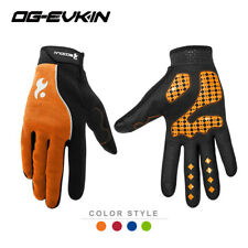 Full Finger Cycling Gloves Gel Bike Sport Motorcycle Mountain Gloves Touchscreen
