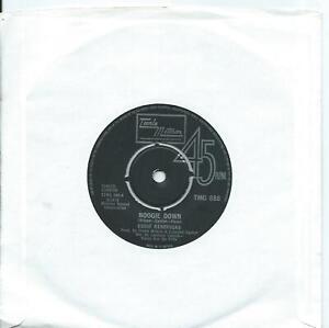 Eddie Kendricks:Boogie down/Eddie's love:UK Tamla Motown:UK TMG 888