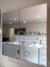900mm Bevelled Edge Shaving Cabinet with 2 Mirror Doors