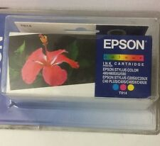 Original Epson T014 Tintenpatrone Colour 3-farbig →Stylus Color 480/580, C20/C40