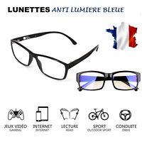 Lunettes Anti lumière bleue Anti-Radiation Protection des yeux Pc Tv..