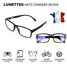 Lunettes Anti lumière bleue Anti-Radiation Protection des yeux Pc Tv