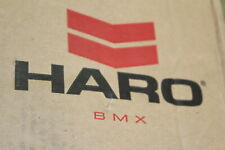 "Haro Shredder Pro 20 "" BMX Bike Wheel Mat Pewter Grey 25x9 Rear And Brake New"