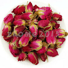 50g Organic Red Rosebud Rose Buds Flower Floral Herbal Dried Health Chinese Tea