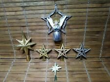 6 Christmas Tree Topper for Miniature/ Small Trees - Feather Tree - Fairy Garden