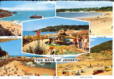Jersey: The Bays of Jersey - Multiview - Unposted c.1980's