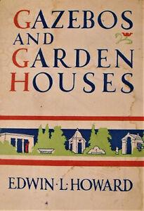 RARE Art Deco Garden Architecture EDWIN HOWARD SIGNED Westport CT Blueprint 1935