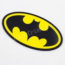 Auto Bike Decorate Trim Yellow Style Bat Symbol Badge Emblem Decal Sticker Parts