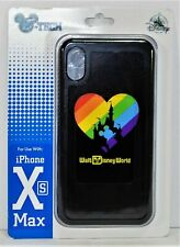 Disney Magic Kingdom Rainbow Pride Mickey Apple Iphone 10 XS Max Cellphone Case