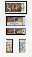 Lot de timbres Europa CEPT 1998 neufs** avec carnet Grèce  Greece