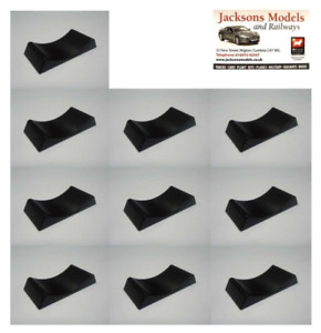 Triple 9 189900 1:18 Scale Car Stoppers for Display Cases (Pack of 10)