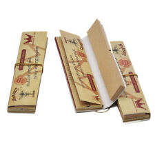 5 x King Size Brown Hornet Hemp Unrefined Rolling Papers with Paper Filter Tips