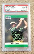 1990 Payne Stewart NFL PRO SET SPECIAL Golf Card - Gem Mint PSA 10 - Packers