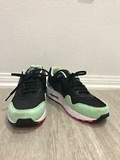 Nike Air Max 1 FB BLACK FRESH MINT GREEN PINK FLASH WHITE YEEZY 579920-066 Men 8