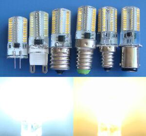 G4/G5.3/GY6.35/G9/E10/E12/E14/E17/BA15D LED bulb 3W 80-3014SMD Dimmable Lamp