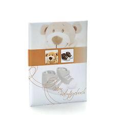 Baby Tagebuch Trendbär, creme, 20 cm x 28 cm