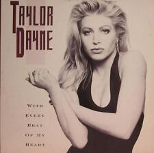 """Taylor Dayne(12""""Vinyl)With Every Beat Of My Heart-Arista -612706-UK-Ex/Ex"""