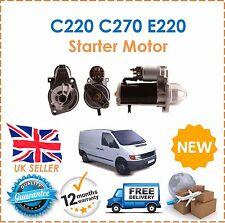 For Mercedes C220 C270 E220 E270 E320 1995-2006 CDi TD Diesel Starter Motor NEW