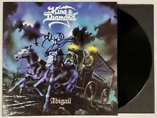 KING DIAMOND SIGNED ABIGAIL LP VINYL RECORD ALBUM W/JSA CERT