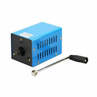 Hand Crank Generator 20W Portable USB Charger Manual Power Supply for Camping