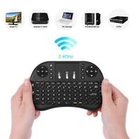 Mini 2.4G Wireless Air Keyboard Mouse Qwerty Remote Touchpad F Android TV BOX PC