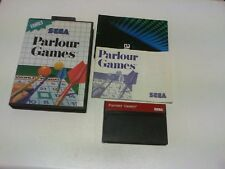 PARLOUR GAMES master system