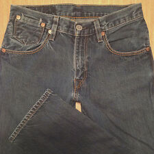 LEVI'S 514 Jeans SLIM STRAIGHT 30x32 Medium Blue Distressed *VGUC*  J070717