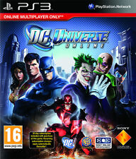 DC Universe Online ~ PS3 (in Great Condition)