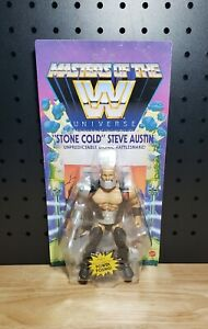 Masters Of The WWE Universe Stone Cold Steve Austin Wave 8 Walmart Exclusive