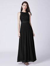 Ever-Pretty Womans Lace Long Evening Dresses Sleeveless Homecoming Dresses 07391