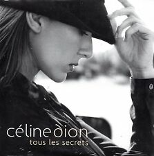 CD single Céline DION	Tous les secrets 2-Track CARD SLEEVE  ++ RARE + NEW SEALED