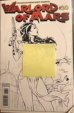 WARLORD OF MARS 30 HIGH END B/W RISQUE VARIANT COVER LIMITED TO 25! Dejah Thoris