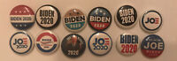 2020 Biden Joe President Campaign Pin Lot Pins One Inch  12 Button Lot Pin back