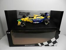 Pauls Model Art 1:18 Scale Minichamps Benetton Ford B191 M SCHUMACHER F-1 Car