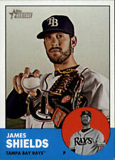 2012 Topps Heritage #495A James Shields SP BX H2C