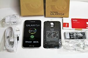 Samsung Galaxy S5 SM-G900V Black Android Verizon LTE 4G GSM New Other SEALED