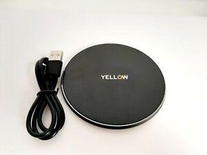 Cargador Inalámbrico 10w Qi Wireless Charger Carga Rápida Teléfonos auriculares