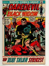 Daredevil #92 GORGEOUS HIGH GRADE NM- 9.2! 1ST BLACK WIDOW on TITLE! Marvel 1972