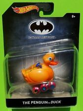 Hot Wheels - Batman Returns Movie - PENGUIN DUCK -1:50 Scale -Free Shipping