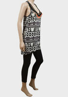 New with Tags Ladies Brave Soul Aztec Print Top Sizes 4/6 8/10 12/14