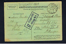 1940 INCOMING MAIL TO POW IN STALAG VI F