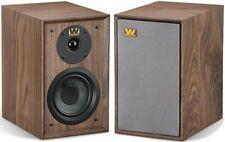 Wharfedale Denton Speakers Bookshelf Stereo Pair Home Wood WALNUT RRP £499