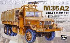 Afv Club a 3504 M35a2 6x6 2 1/2t Cargo Camion