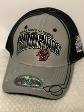 half off 2dc33 56176 Boston College 2008 NCAA Locker Room Hockey National Champions Frozen Four  Hat