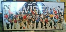 VISE PBA 2009 2010 AUTOGRAPHED BOWLING POSTER SIGNED BY 38 OF 40 PLAYERS