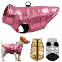 Waterproof Dog Warm Vest Jacket Soft Cotton Padded Winter Puppy Coat Clothes