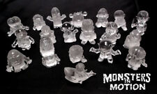 Mini Monsters 19-Piece CLEAR Resin Gumball Set 241HM02