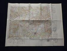 Landkarte von Mitteleuropa 1:300 000, M 49 München, Augsburg, Nördlingen, 1944