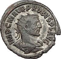 PROBUS Original 278AD Authentic Ancient Genuine Roman Coin RESTITVT ORBIS i65565